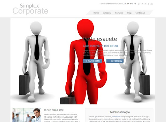 Simplex Corp Blogger Template | Vice Blogger