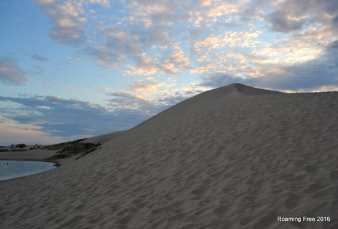 Razorback Dune -- we're going up that!?!