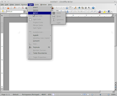 LibreOffice Writer with mismatch look-and-feel