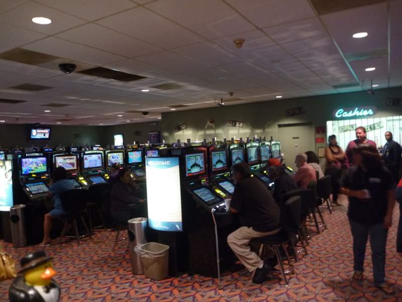 Photo: So here I am on my way, stopping in the Casino at Why to get some travel money together....