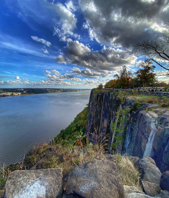View of New York from the Palisades