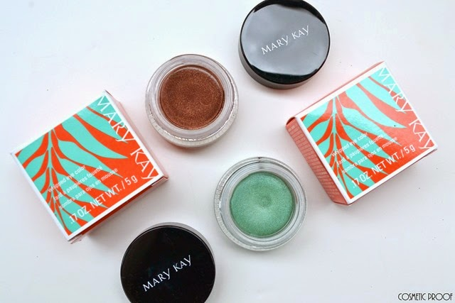 Mary Kay Whipped Eye Color Swatches Review