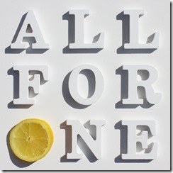 all for one stone roses