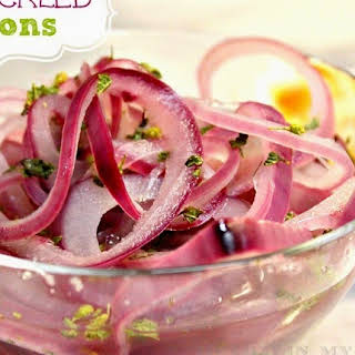 How to make Pickled Red Onions.