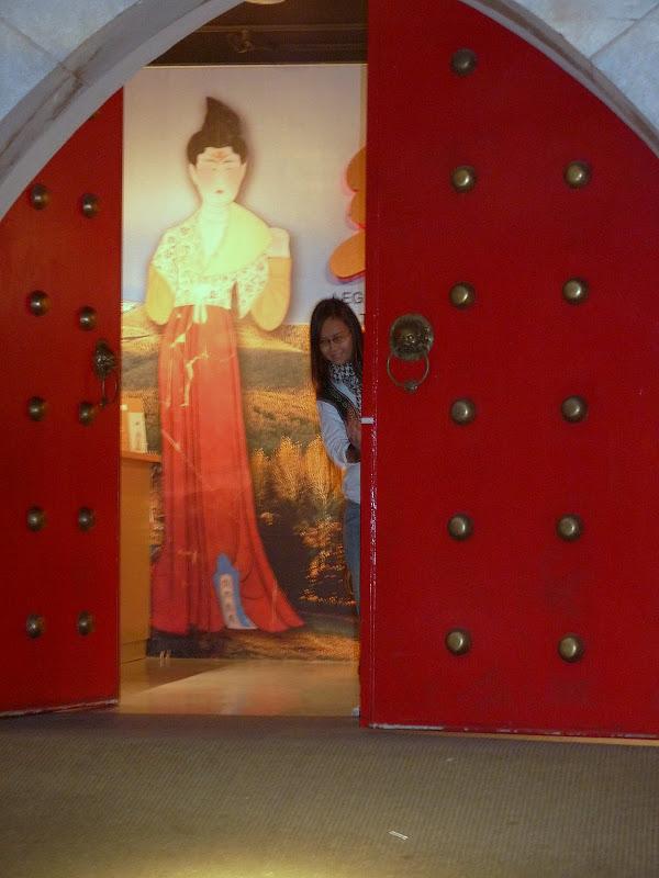 Taipei Musée national d'histoire.Exposition La route de la soie
