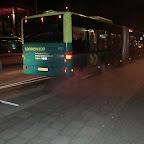 Mercedes Citaro van Connexxion bus 9121 ( Had z'n webasto aanstaan vandaar die rook )