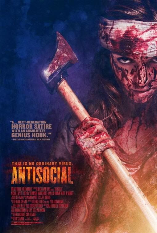Poster Of English Movie Antisocial (2013) Free Download Full New Hollywood Movie Watch Online At Alldownloads4u.Com