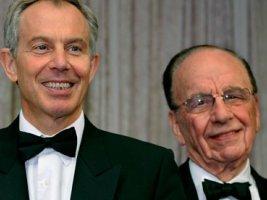 Tony Blair and Rupert Murdoch