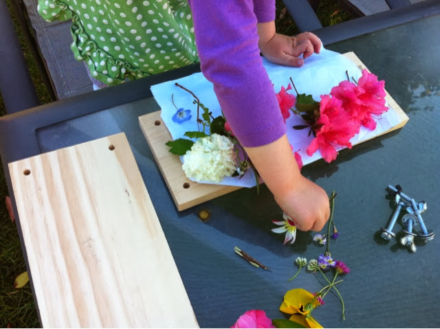 Just For Daisy: DIY Flower Press