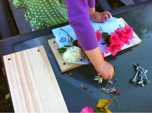 Just For Daisy: DIY Flower Press