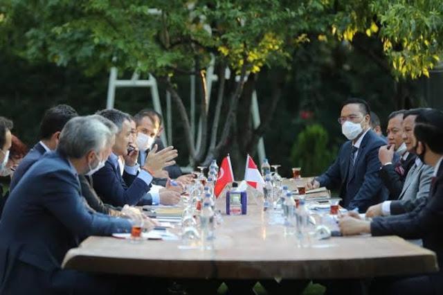 Lawatan ke Turki, Menhan Prabowo Shalat Jumat di Hagia Sophia?