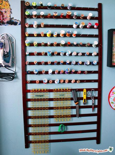 Thread Organization from crib