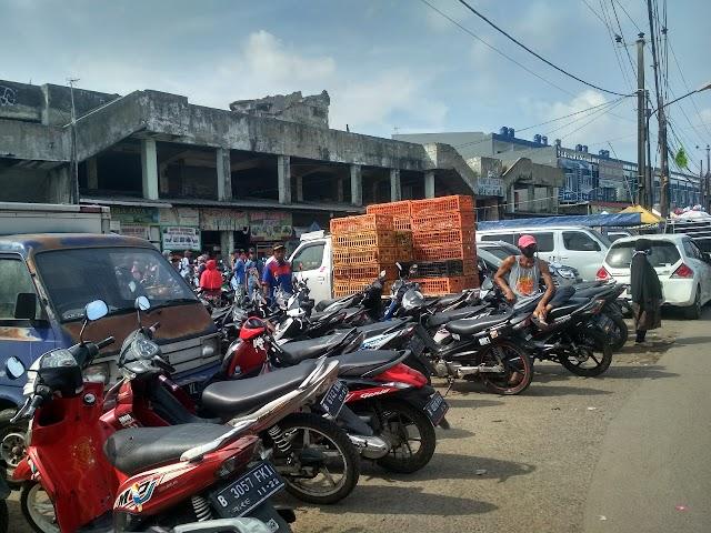 PSBB, Pasar Masih Ramai Jelang Hari Raya