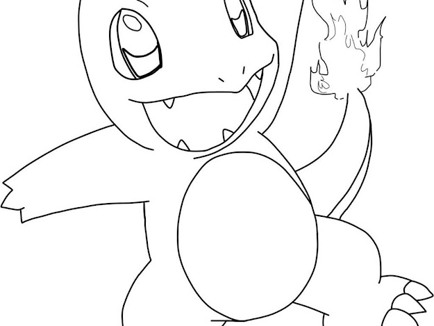 Download Charmander Coloring Pages
