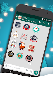 Christmas Stickers for WhatsApp, WAStickersApp v1.0 APK 2