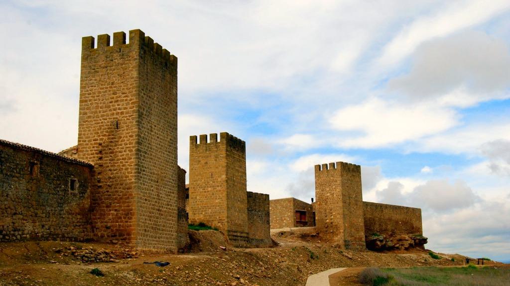 Panorámica del Cerco de Artajona - Turismo en Navarra