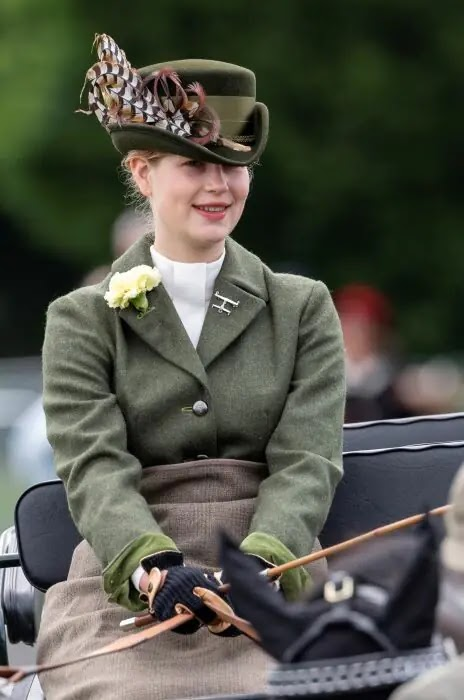 Lady Louise Windsor Drives Prince Philip's Carriage at Royal Windsor Horse Show