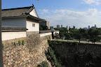 大坂城:千貫櫓・大手多門櫓下の石垣