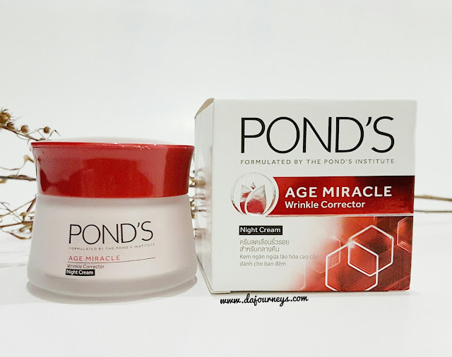 Ponds Age Miracle Wrinkle Corrector Night Cream Review