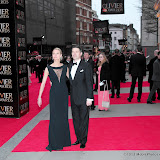WWW.ENTSIMAGES.COM -    Clare Harding; Tom Chambers   at      The Olivier Awards at Royal Opera House, Covent Garden, London, April 28th 2013                                               Photo Mobis Photos/OIC 0203 174 1069