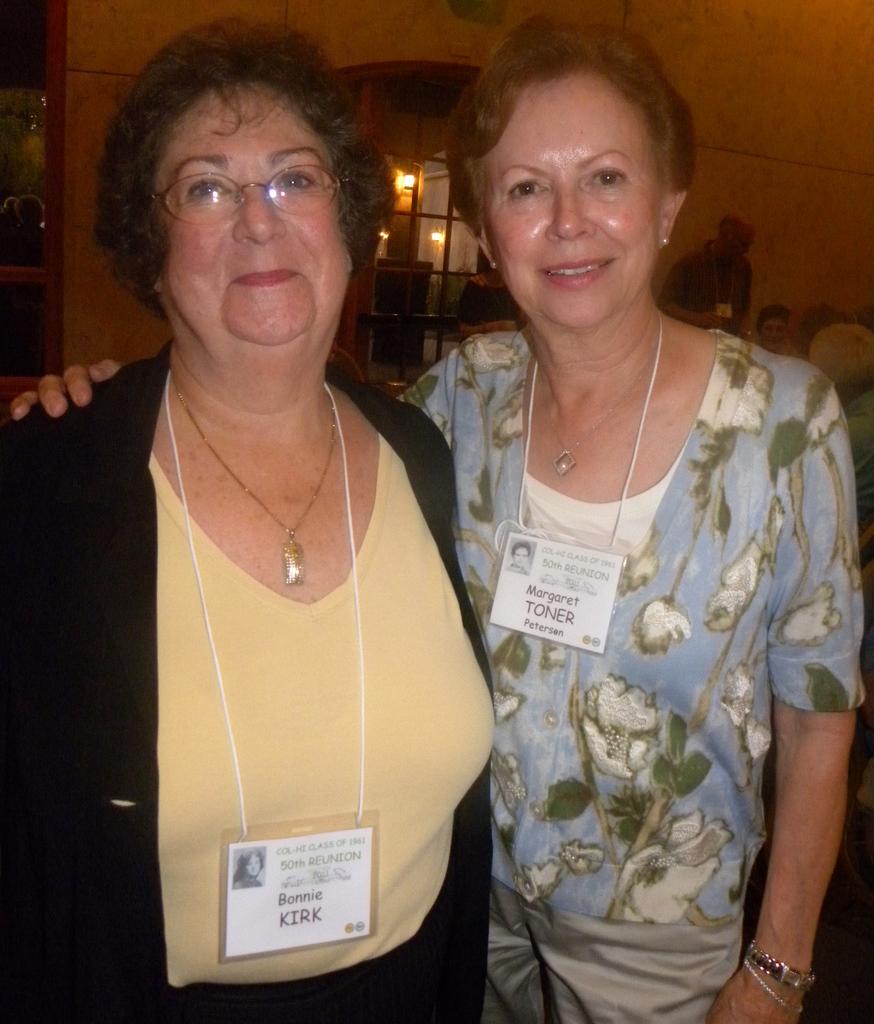 Bonnie Kirk, Margaret Toner