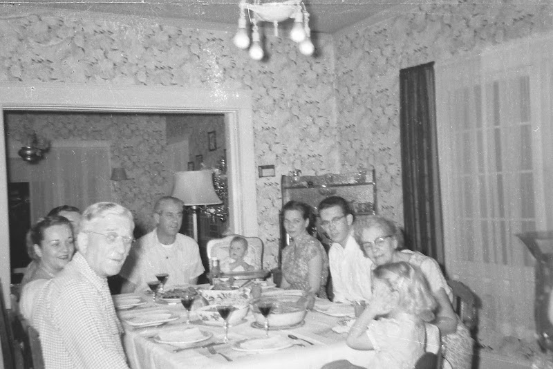 Dinner at Gramma and Grampas