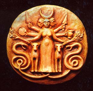 Hecate Medalion, Gods And Goddesses 1