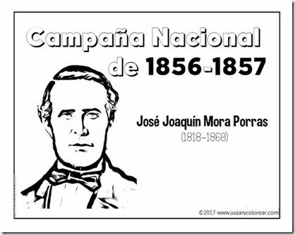 Campaña Nacional  de 1856-1857  joaquin mora porras (1)