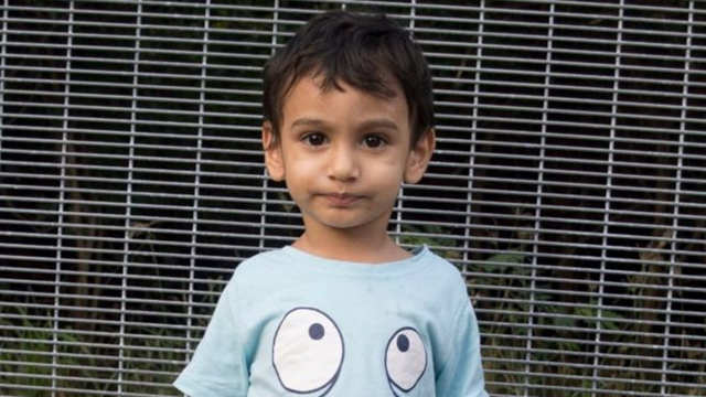 Two-year-old George is one of hundreds of asylum seekers being held in detention on the Pacific island of Nauru. Photo: World Vision Australia