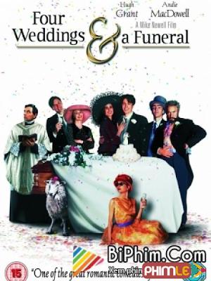Phim Bốn Đám Cưới và Một Đám Ma - Four Weddings And A Funeral (1994)