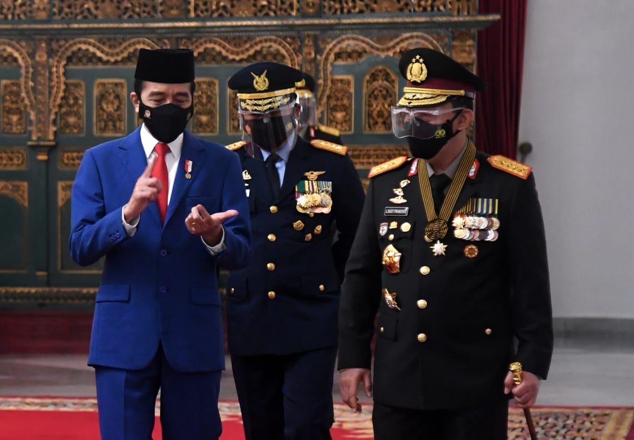 Jokowi Minta Polisi Tak Asal Tangkap, Ingatkan soal HAM