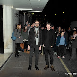 WWW.ENTSIMAGES.COM -  Gus Unger-Hamilton; Thom Green  arriving at The BRIT Awards 2013 - shortlist  nominations announcement at The Savoy Hotel, Strand, London January 10th 2013 Photo Mobis Photos/OIC 0203 174 1069