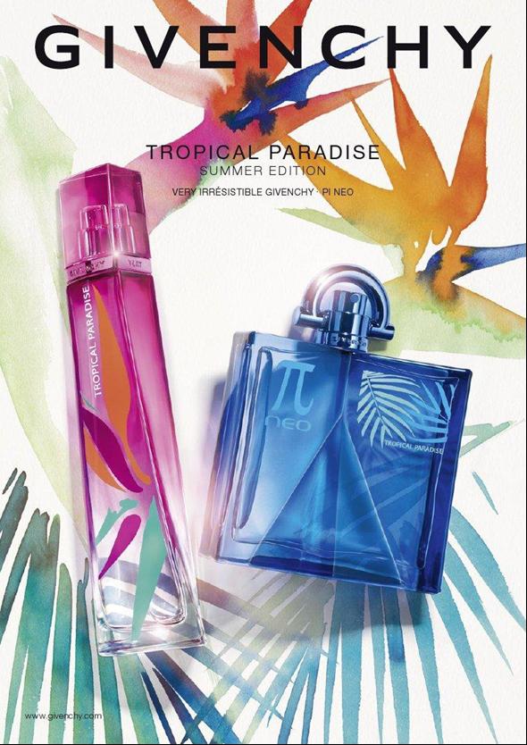 bad7a6e9ae Os icónicos frascos de Very Irrésistible Givenchy e Pi Néo foram  reinventados para o verão