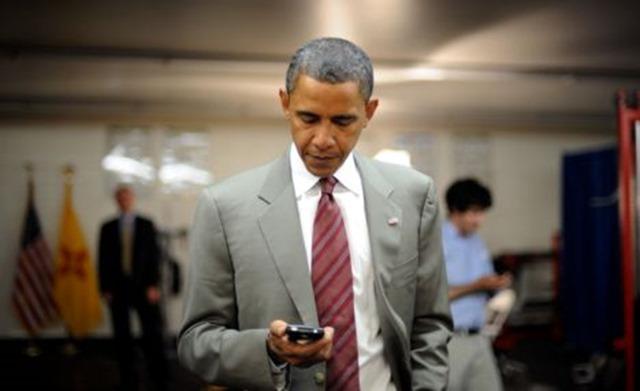 Барак Обама уже давно выбрал BlackBerry в качестве устройства для коммуникаций