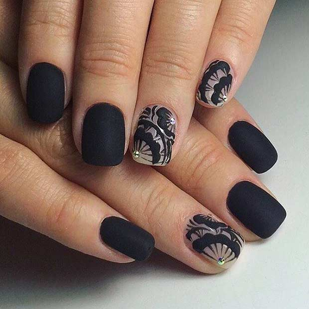 Latest Matte Nail Designs You Will Love 3