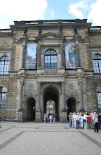 Photo: Entrance to the Zwinger Palace Complex