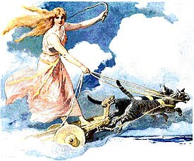 Freya Goddess Of Love And Beauty Image