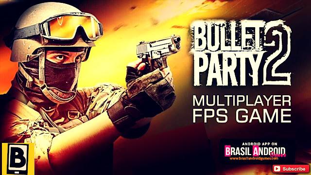 Bullet Party CS 2 : GO STRIKE APK MOD DINHEIRO INFINITO