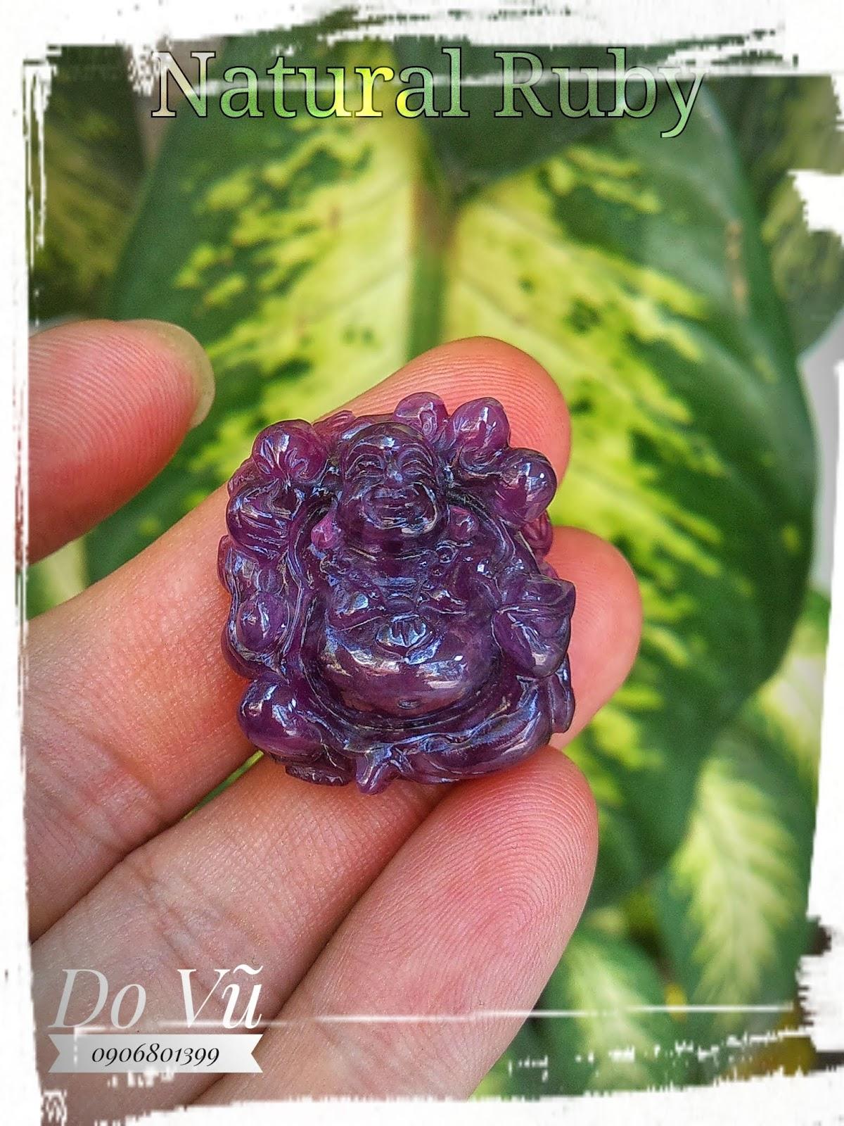 Cụ Di Lạc Sapphire thiên nhiên chạm duyên chất ngọc (20/04/20, 02)