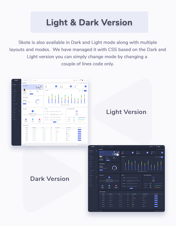 Skote - Node.js Admin & Dashboard Template - 7