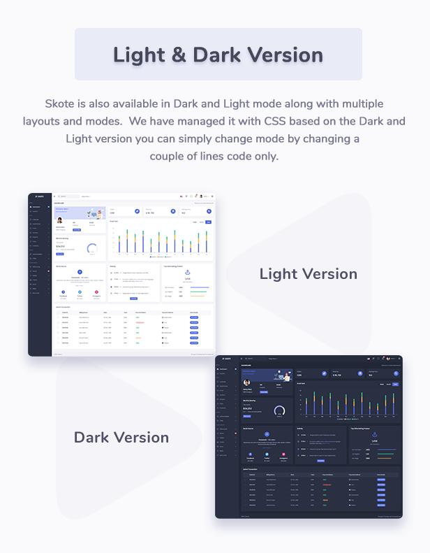 Skote - HTML & Django Admin Dashboard Template - 10