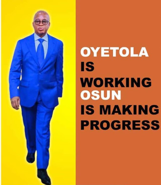 """Oyetola not a Politician"", prefers being at large, to largesse"