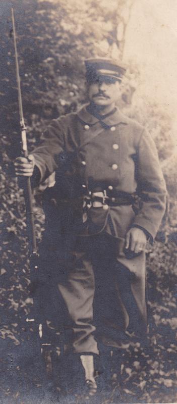 képi bataillons des douanes 1903  1914 Douaniers2