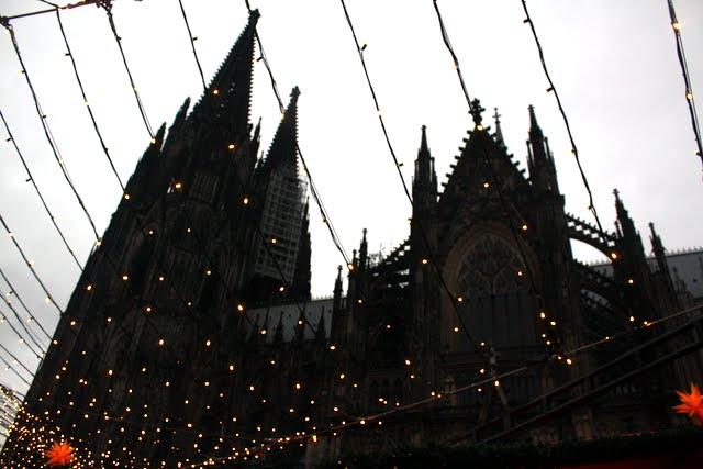 Cologne Cathedral at Christmastime
