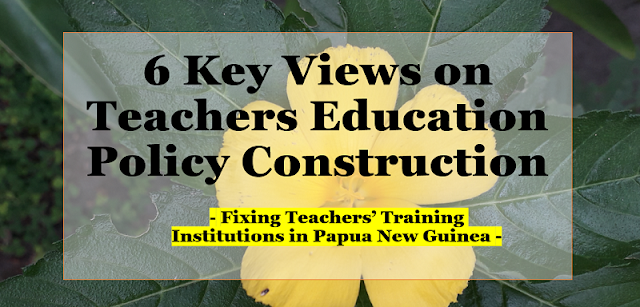 teachers education policy