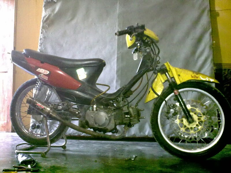 Modifikasi Motor Suzuki Smash 110 Cc
