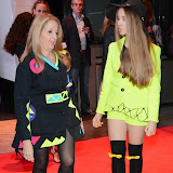 WWW.ENTSIMAGES.COM -      Gillian McKeith  and Afton McKeith-Magaziner   at         Nightrider 2015 - VIP launch party at Grange St Paul's Hotel, London November 4th 2014Charity bike ride launches its 2015 challenge. Main event takes place in June 2015                                               Photo Mobis Photos/OIC 0203 174 1069