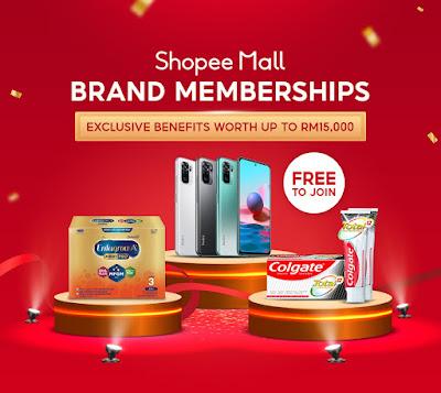 Penjimatan Maksimum Sepanjang Shopee 8.8 Brands Festival