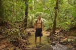 Rainy jungle walk near Kuala Lumpur
