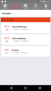 Scanned - Attendance Tracking- screenshot thumbnail